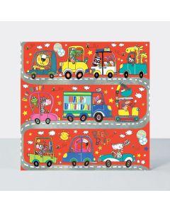 Jigsaw Card - Animals & Vehicles