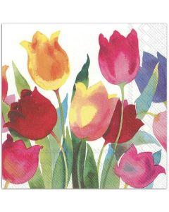 Paper Napkins - Tulips