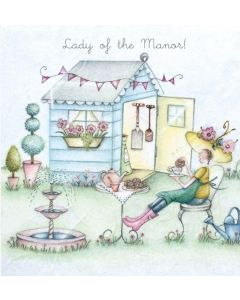 Lady of the Manor Card