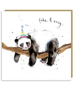 Birthday - 'Take it easy' panda