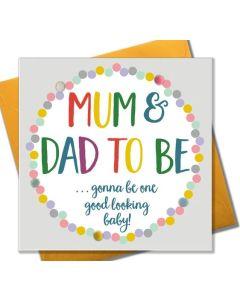 Mum & Dad To Be - pom poms