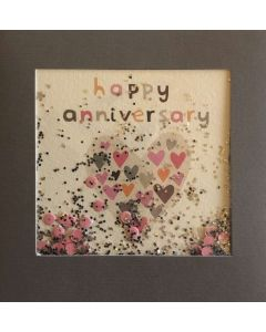 Anniversary - Heart with sprinkles