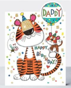 Daddy Birthday - Cute tigers