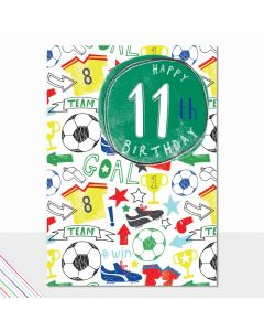 AGE 11 - Soccer theme