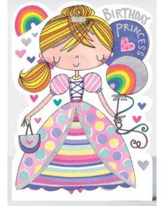 Birthday Card - Princess