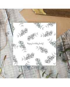 BIRTHDAY - Lovely Leaf Sprigs