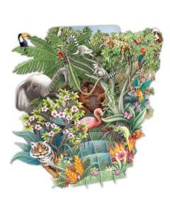 3D Card - The Jungle