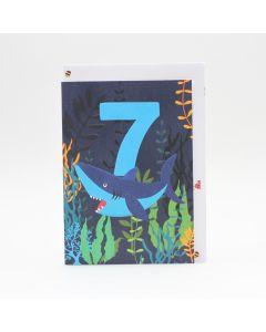 Age 7 - Shark under the sea