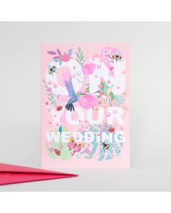 WEDDING - Bright flowers & hummingbirds