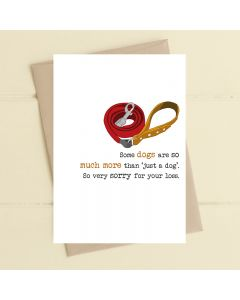 PET SYMPATHY card - More than a dog