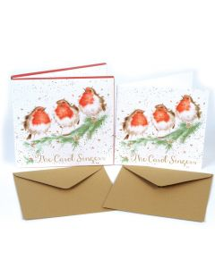 Christmas card pack (8 cards) - The Carol Singers