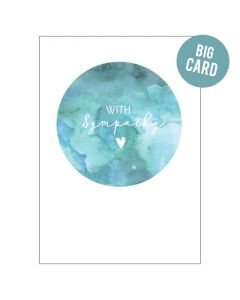 BIG Card - With Sympathy