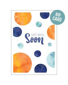 BIG Card - Get Well Soon