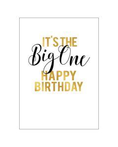 BIG Card - It's the BIG ONE