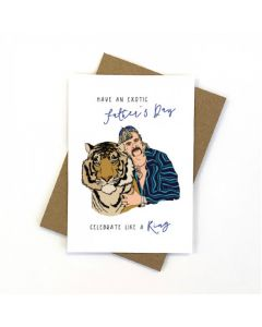 Father's Day - Joe Exotic card