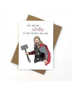 Father's Day - THOR card