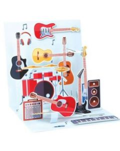 Music- 3D pop-up card