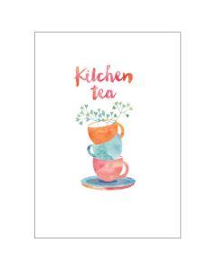 Kitchen Tea - Tea cup stack