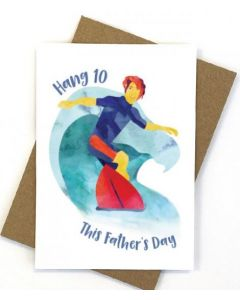 Father's Day - Surfing 'Hang 10'