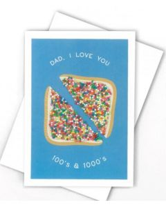 Father's Day - Love DAD 100s & 1000s