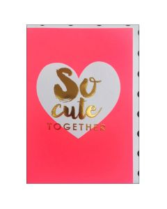 Greeting Card - So Cute Together
