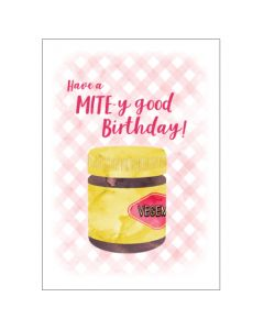 Birthday Card - Vegemite