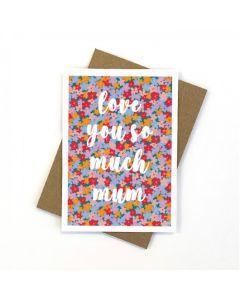 MUM Card - Flower Patch