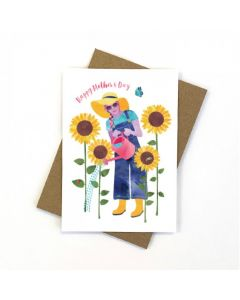 Mother's Day Card - Gardening