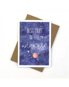 MUM Card - Best in the Universe