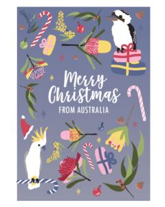 Boxed Christmas cards - Flora and Fauna (8 cards)