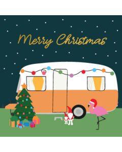 Boxed Christmas Cards - Caravan Christmas (10 cards)
