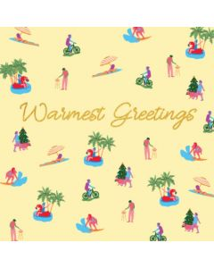 Boxed Christmas Cards - Warmest Greetings (10 cards)