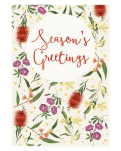 Boxed Christmas Cards - Vintage Botanicals (8 cards)