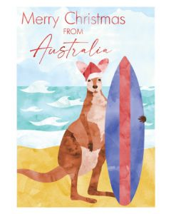 Boxed Christmas Cards - Merry Surfer (8 cards)