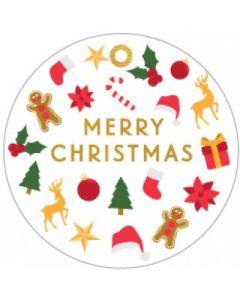 Christmas gift tags - Cute Christmas (8-pack)