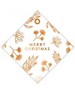 Christmas gift tags - Christmas blossom (8-pack)