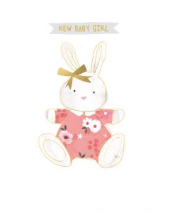 Baby Girl - Bunny in pink