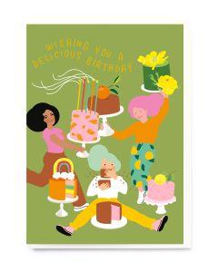 Birthday Card - Delicious Birthday