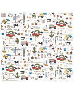 Christmas in Australia Wrapping Paper