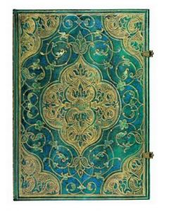 Paperblanks - Turquoise Chronicles GRANDE Unlined Journal