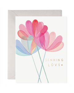 Greeting Card - Sending Love