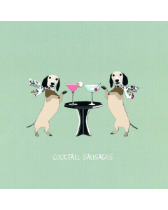 'Cocktail Sausages' Card