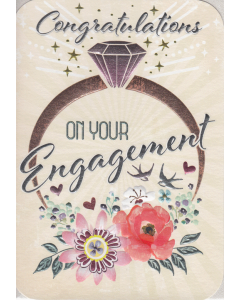 'Congratulations on Your Engagement' Card