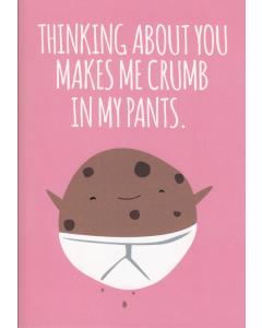 Crumb in My Pants Card