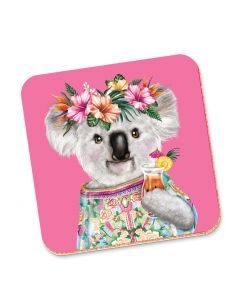 Drink Coaster - Tropical Koala