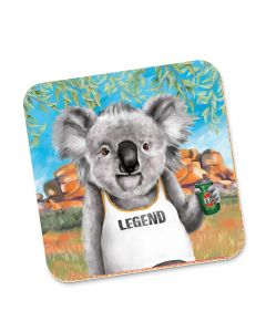 Drink Coaster - Koala Legend