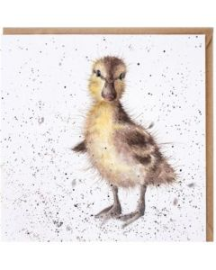 Greeting Card - Just Hatched (Duckling)