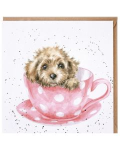 Greeting Card - Teacup Pup