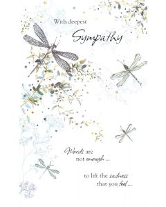 SYMPATHY Card - Words Are Not Enough