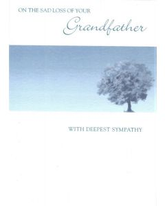 SYMPATHY Card - Loss of Grandfather